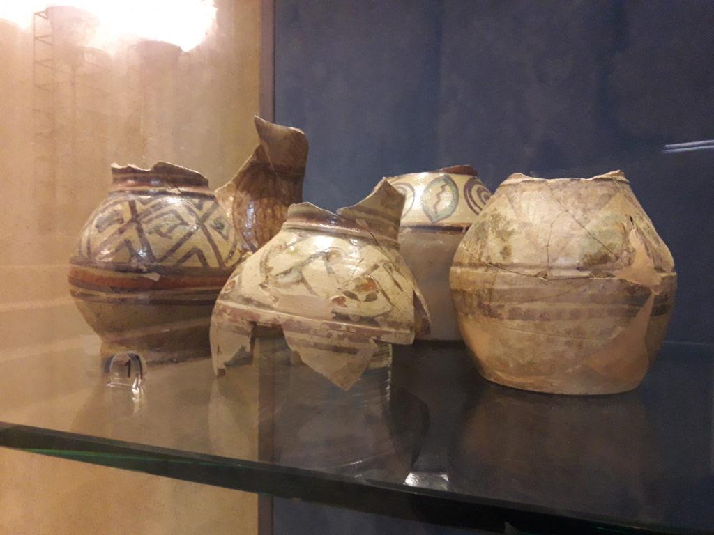 ceramica protomaiolica museo castello arechi salerno