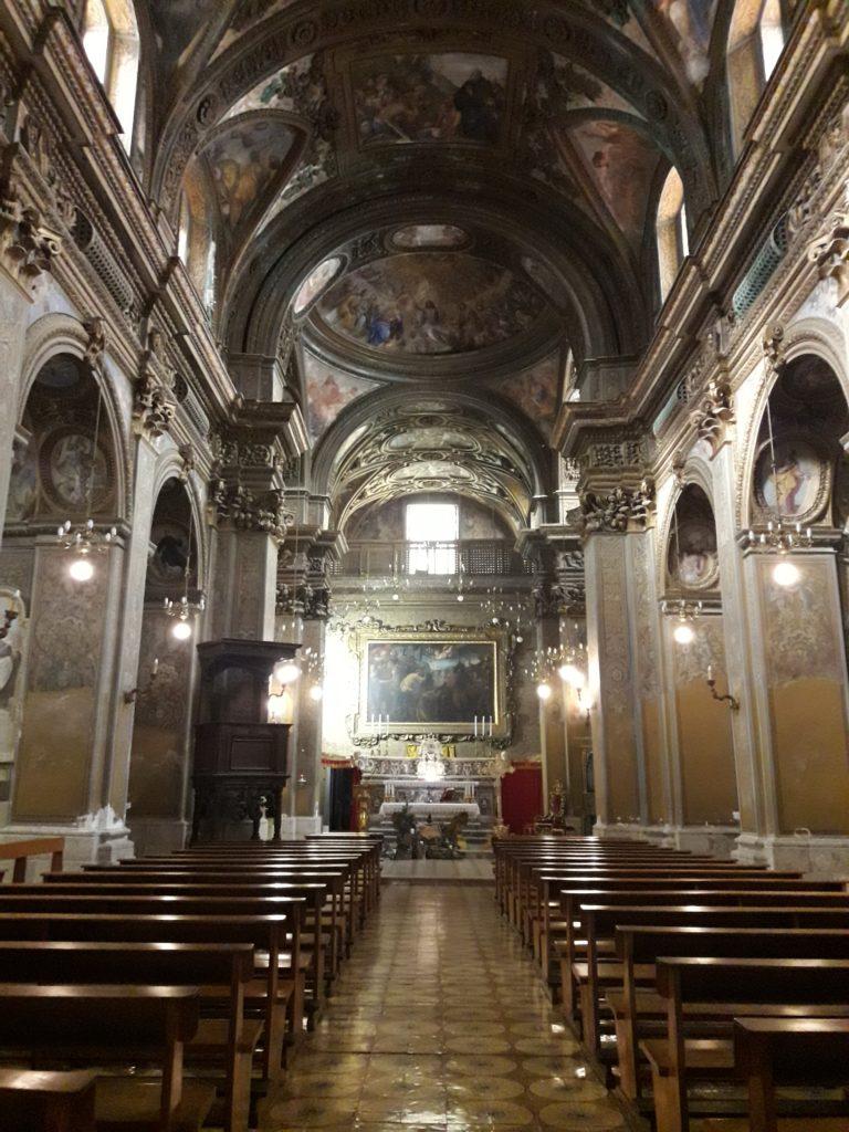 interno chiesa san giorgio