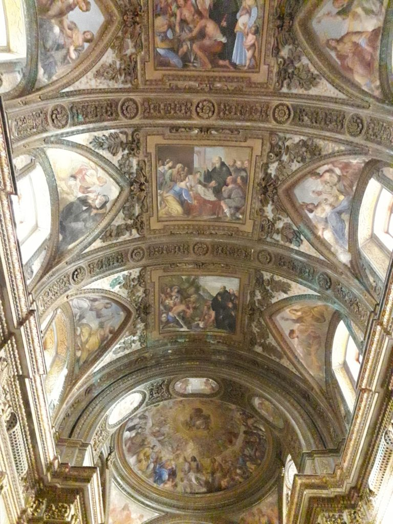 affreschi chiesa san giorgio
