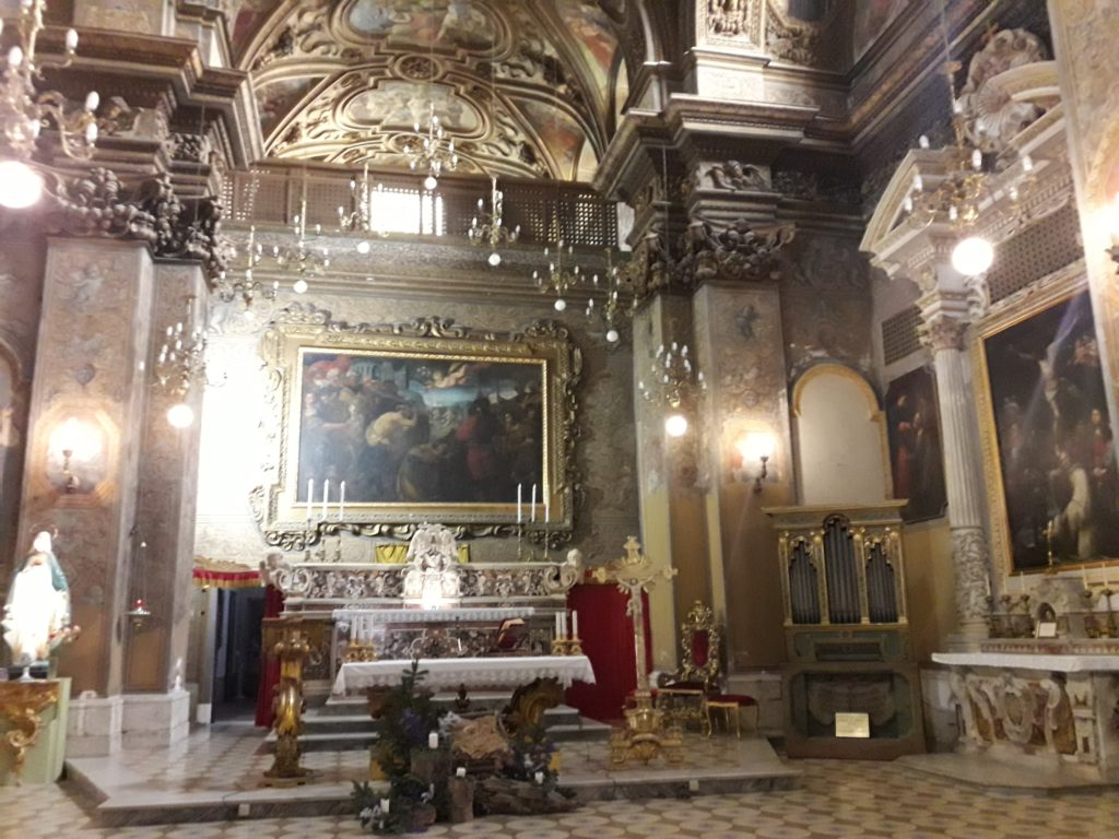 altare maggiore chiesa san giorgio