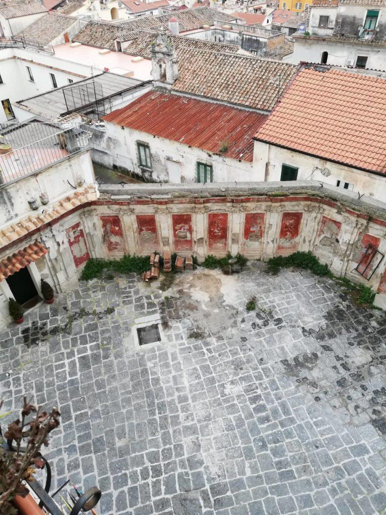cortile palazzo copeta