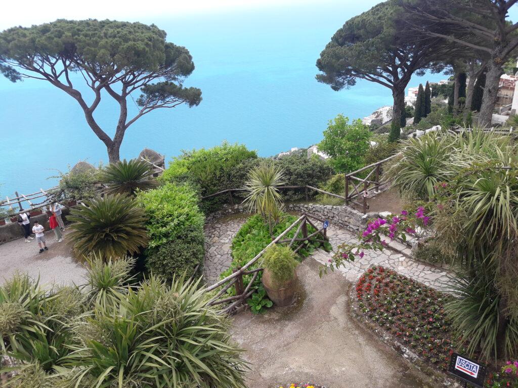 terrazzo del giardino