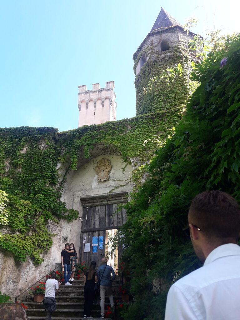 entrata villa cimbrone