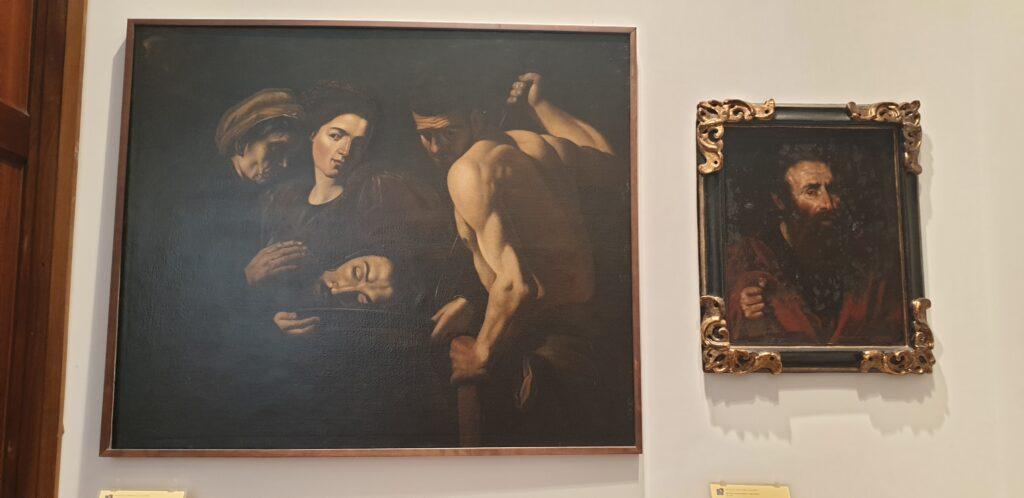 Salomè con la testa del Battista, di Battistello Caracciolo