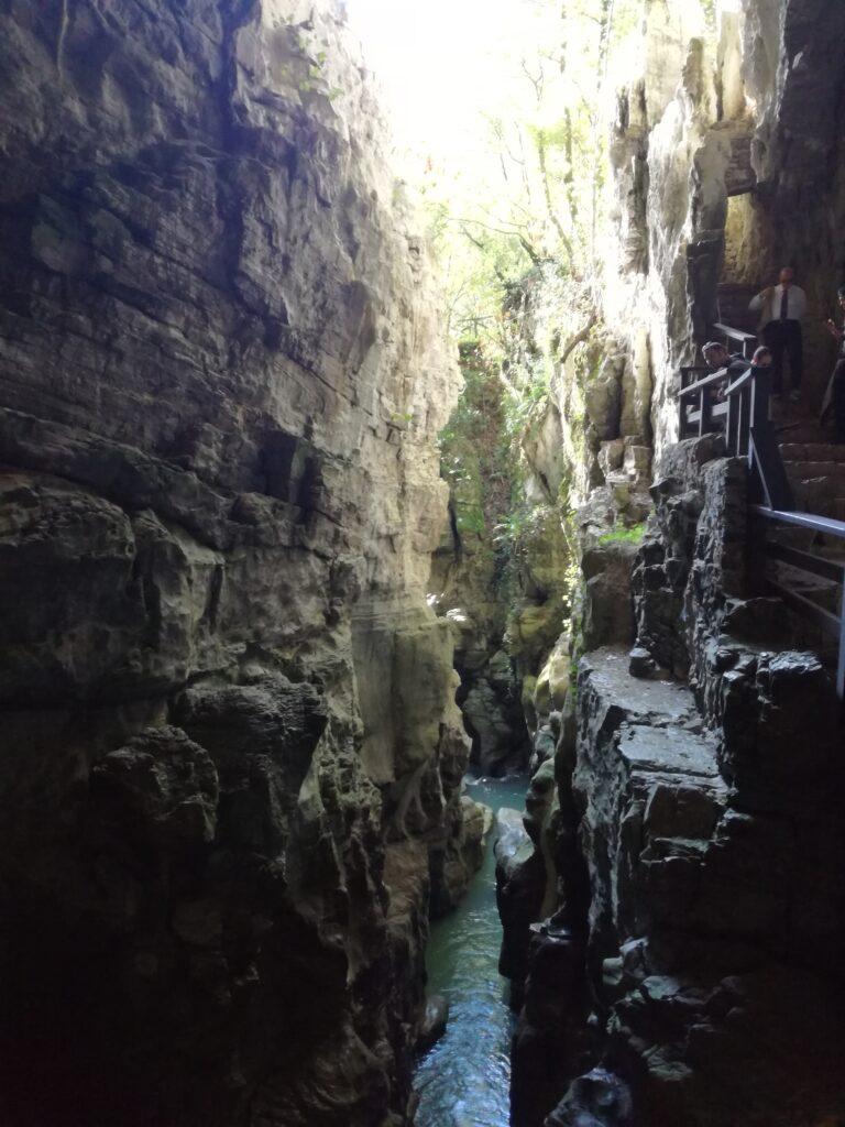oasi del bussento interno grotta
