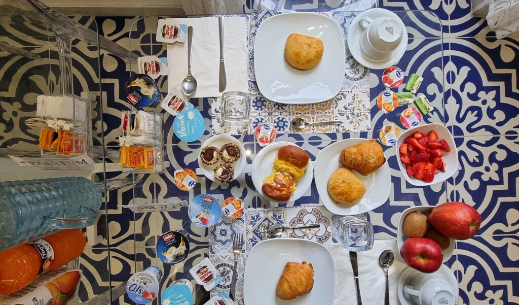 colazione il reticolo