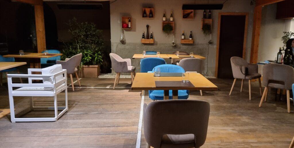 sala esterna ristorante hydra a salerno